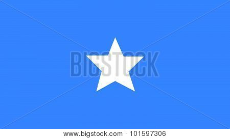 Somalia Flag For Independence Day And Infographic Vector Illustration.