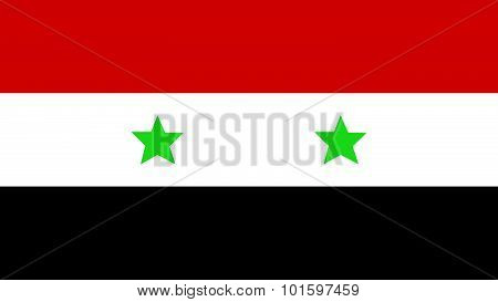 Flag For Independence Day And Infographic Vector Illustration.