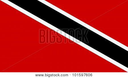Trinidad & Tobago Flag For Independence Day And Infographic Vector Illustration.