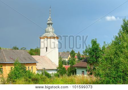 Church in the countryside.
