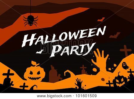 Halloween vector background