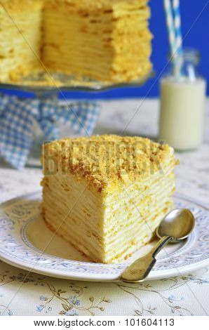 Homemade Layered Cake