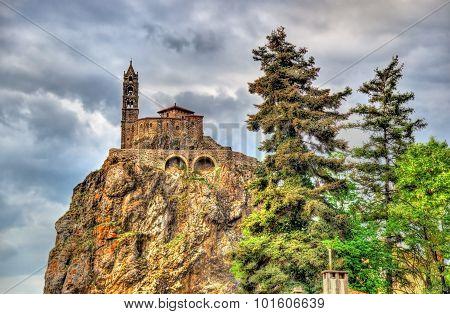 Saint Michel D'aiguilhe, A Chapel In Le Puy-en-velay, France