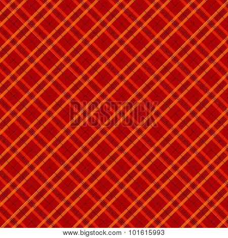 Fabric And Tartan Red Pattern Background Vector