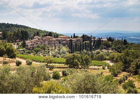 Castellina In Italy