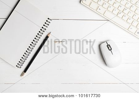 Notepad And Computer