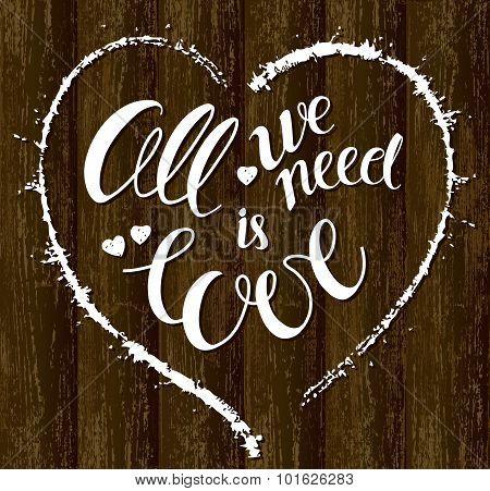 Love Ia All We Need