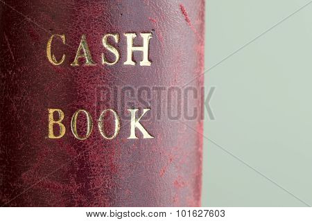 Leather Bound Cash Book