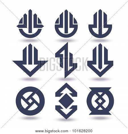 Business Icons Set Graphic Design Editable For Your Design. Logo Isolated On White Background