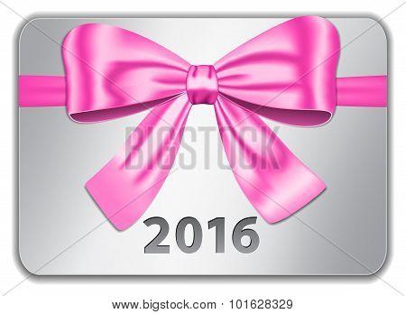 2016 gift card