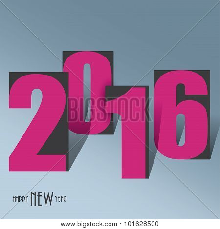 2016 Creative Background For Your Greetings Card, Flyers, Invitation, Posters, Brochure, Banners Hap