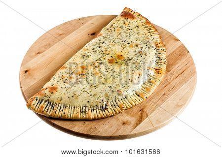 Niice quesadilla isolated on white
