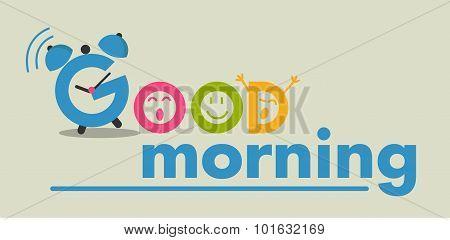 Good Morning Flat Style