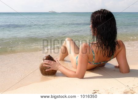 Sunbathing In Mexico