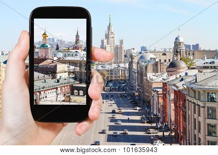 Photographs Picture Of Moscow Street