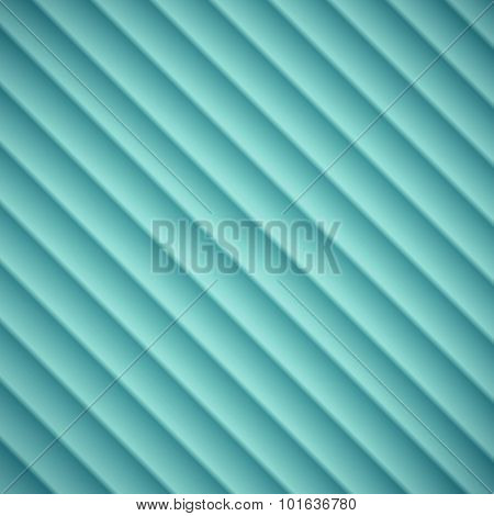 Abstract Blue Lined Embossed Shadow Background Vector