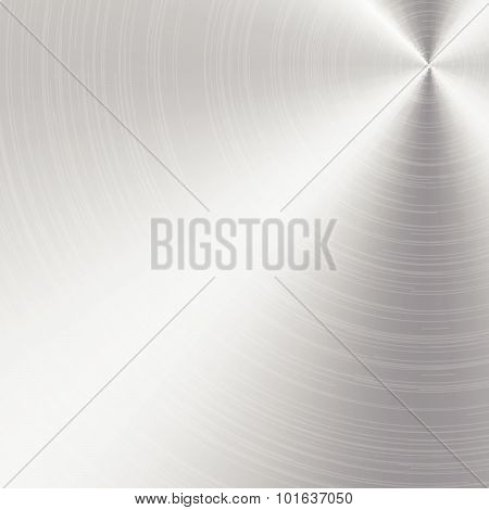 Aluminum Or Metal Texture And Background Vector