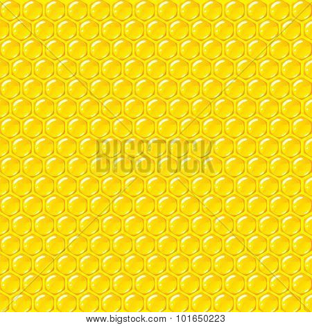 Beehive pattern vector background
