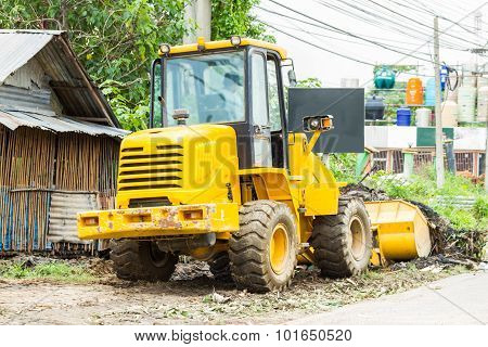 Agricultural Tractorand Construction.