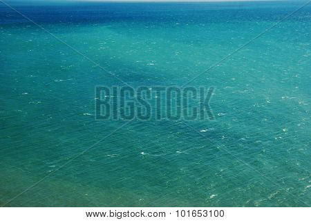Sea surface background in a windy day