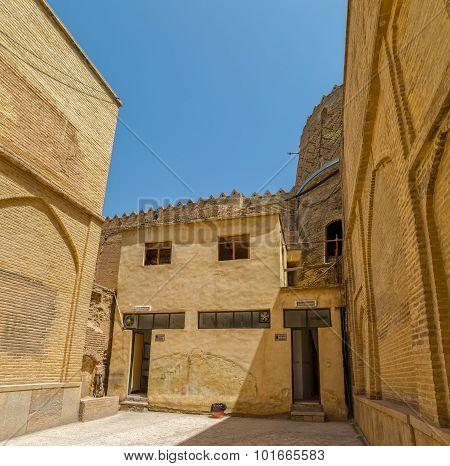 Citadel inside walls angle