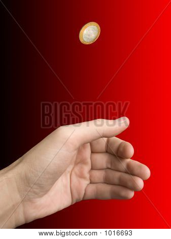 Hand And Coin (Choice)