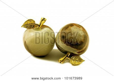 Stone Souvenir - Apples Of Onyx - Semi-precious Stone