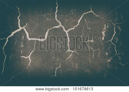 Cracks - abstract dark textured background