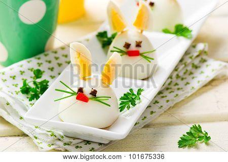 Boiled Egg Bunny Rabbit