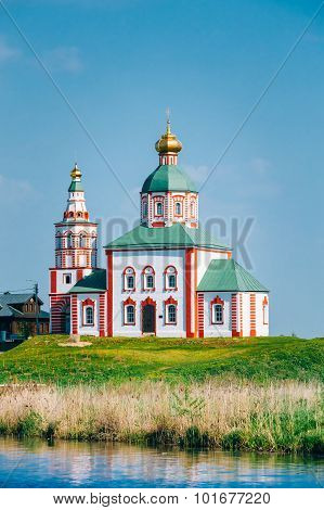 Church of Elijah the Prophet, Elias Church - church in Suzdal, Russia.