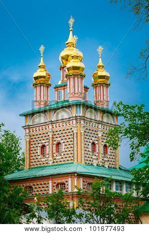 Church of the Nativity of St. John the Baptist in Trinity Sergius Lavra, Sergiev Posad, Russia.