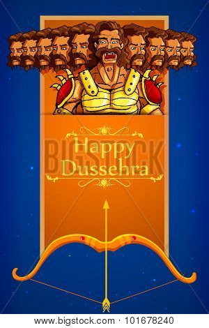 Ravana in Happy Dussehra