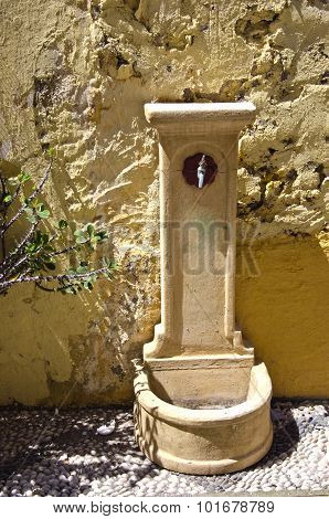 Antique Watering Place In Rhodes