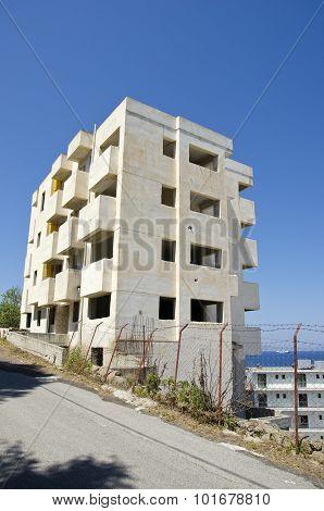 New Block Building In Rhodes Island