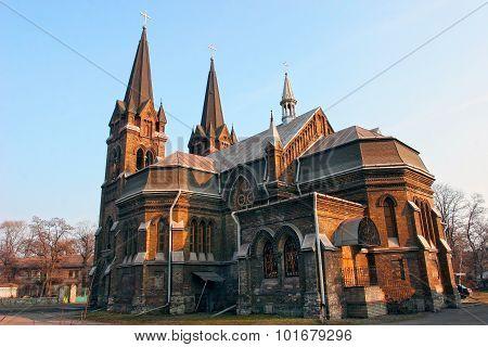 Gothic Roman Catholic Cathedral