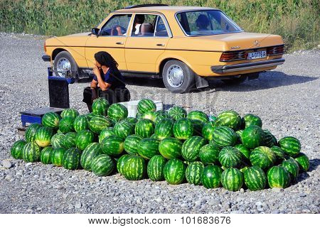 Water Melon Sale
