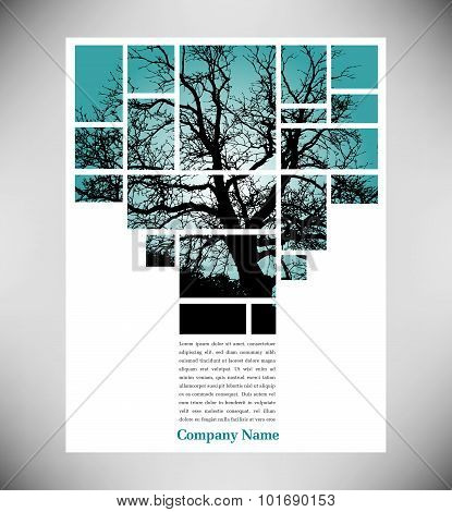Unique tree page layout