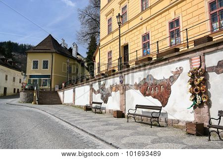 The Wall Of Banska Stiavnica