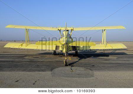 Crop Duster Biplane