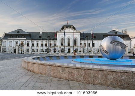 President Palace, Bratislava II