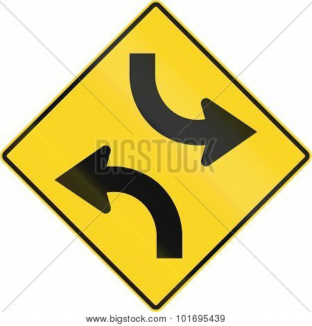Central Turning Lane In Canada