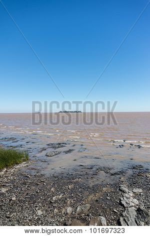 Rio De La Plata River, Uruguay, Argentina. Traveling Through South America. Colonia.