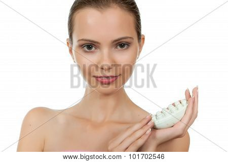 Girl With Soap