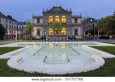 Conservatoire De Musique De Genève In Switzerland
