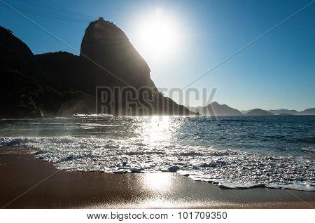 Sunrise Above Sugarloaf Mountain