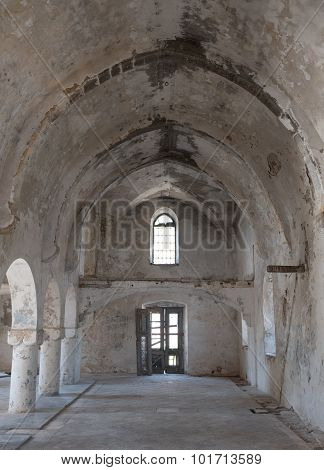 Abandoned Orthodox Church Of Saint Panteleimon In Cyprus