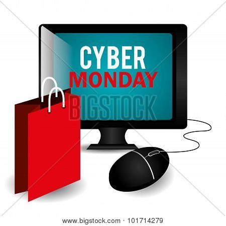 Cyber monday ecommerce shopping