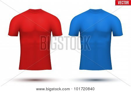 Under layer compression t-shirt of thermo fabric.
