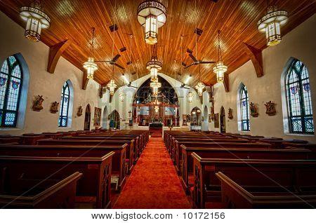 Interior of St. Mary Church