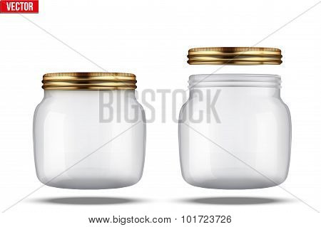Glass Jars for canning and preserving.